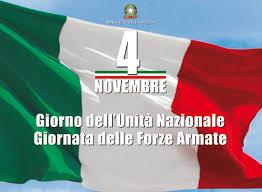 IV NOVEMBRE 2019 Giorno dell'Unità Nazionale e delle Forze Armate